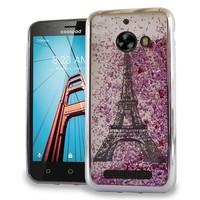 Chrome Glitter Motion Paris Tower Case for Coolpad Defiant