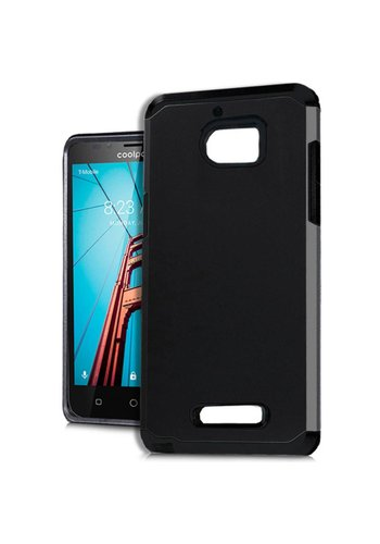 Slim Glossy Solid Case For Coolpad Defiant