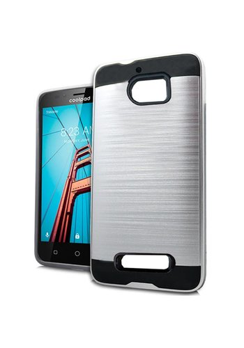 PC+TPU Metallic Brushed Design Case for Coolpad Defiant