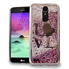 Chrome Glitter Motion Love Case for LG V5 / K20