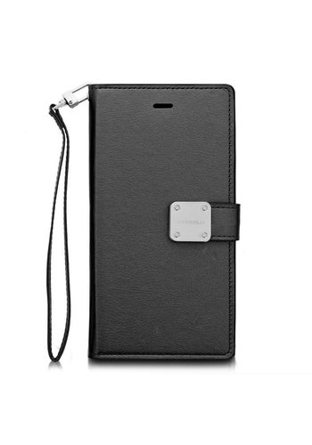ModeBlu PU Leather Wallet Mode Diary Case for iPhone X