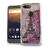 Chrome Glitter Motion Paris Tower Case for ZTE Sequoia / Blade Z Max / ZTE ZMAX PRO