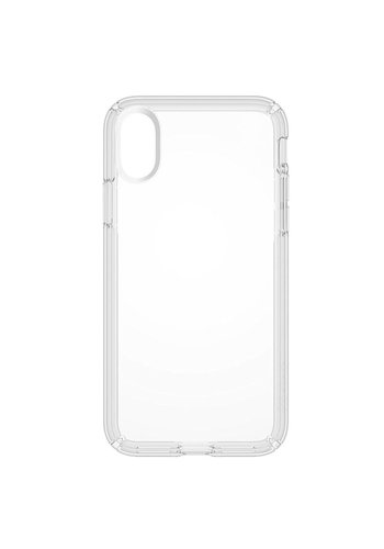 JLW WUW Crystal Clear PC+TPU Gel Case for iPhone X