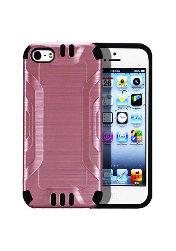 Slim Armor Metallic Design Case for iPhone 5/5S/SE