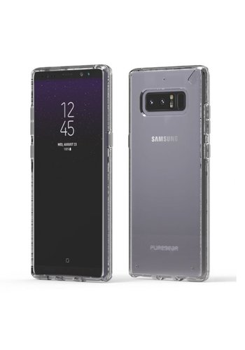 PUREGEAR Slim Shell Clear Case for Galaxy Note 8