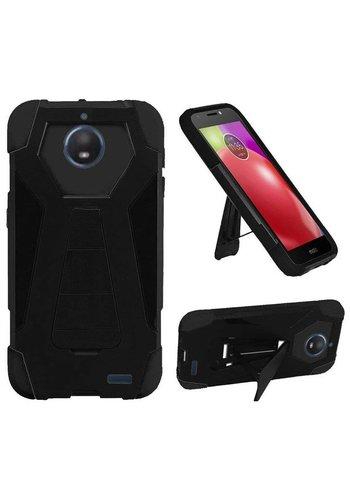 Hybrid T Kickstand Case For Motorola Moto E4 Plus