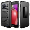 Armor Kickstand Holster Clip Case for Motorola Moto E4 Plus