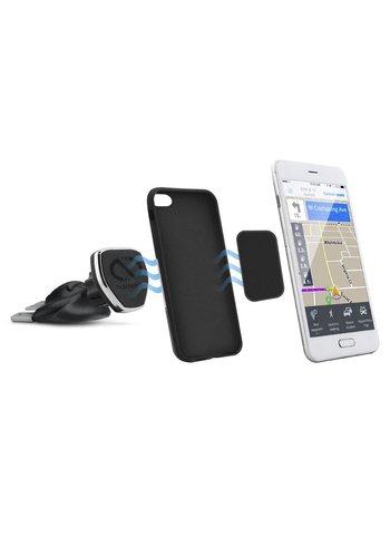 Naztech Universal Car Phone Holder Magnetic MagBuddy CD Slot