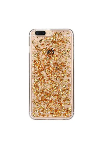 Guardian TPU Gel Case with Metallic Flakes for iPhone 7/8 Plus - Goldrush