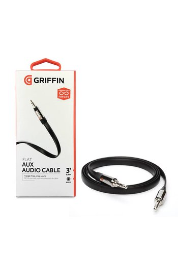 Griffin Flat Aux Audio Cable 3 Feet