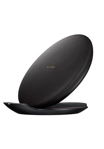Fast Charge Wireless PU Leather Charger Pad & Stand