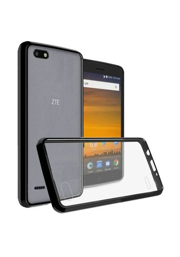 Ultra Slim Clear Hard Fused PC+TPU Case for ZTE Blade Force N9517
