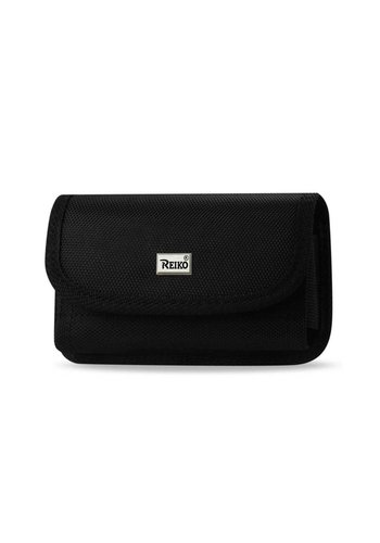 REIKO Horizontal Rugged Pouch Velcro Closure (PH08B-532707) For Universal Devices (Inside: 5.27 x 2.71 x 0.70 in)