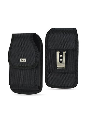 REIKO Vertical Rugged Pouch Velcro Closure (PH02B-583207) For Universal Devices (inside: 5.78 x 3.15 x 0.71 in)