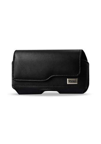 Reiko Horizontal Leather Magnetic Pouch (HP115B-583007) For Universal Devices (inside: 5.84 x 3.04 x 0.67 in)