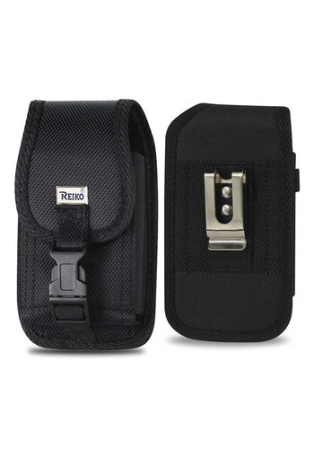 REIKO Vertical Rugged Pouch Velcro Closure (PH01B-352111) For Universal Devices (inside: 3.50 x 2.05 x 1.10 in)