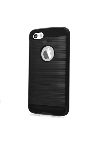 PC+TPU Metallic Brushed Design Case for iPhone 5/5C/5S/SE