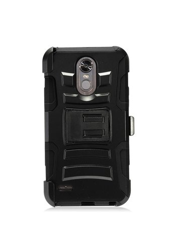 Armor Kickstand Holster Clip Case for LG Stylo 3 (LS777) / Stylo 3 Plus