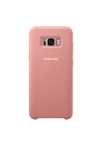 SAM Silky Soft Silicone Cover Case For Galaxy S8 Plus