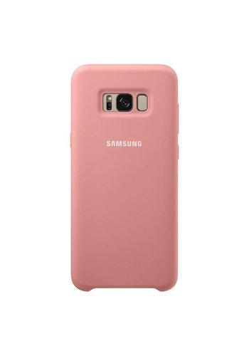 SAM Silky Soft Silicone Cover Case For Galaxy S8