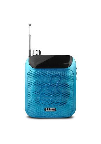 Qugo Portable Loud Speaker with AUX / FM / TF Card Slot & Microphone (QG-551 Plus)