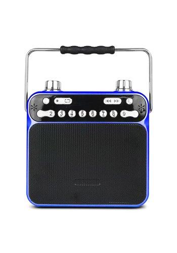 Qugo Portable Loud Speaker with AUX / FM / TF Card Slot (QG-056)