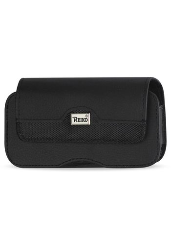 Reiko Horizontal Leather Magnetic Pouch (HP100B-562804) For Universal Devices (inside: 5.59 x 2.79 x 0.42 in)