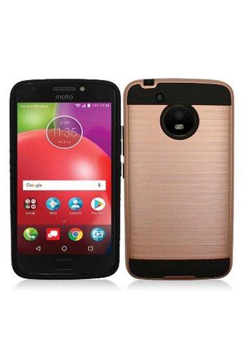 PC+TPU Metallic Brushed Design Case for Motorola Moto E4 Plus