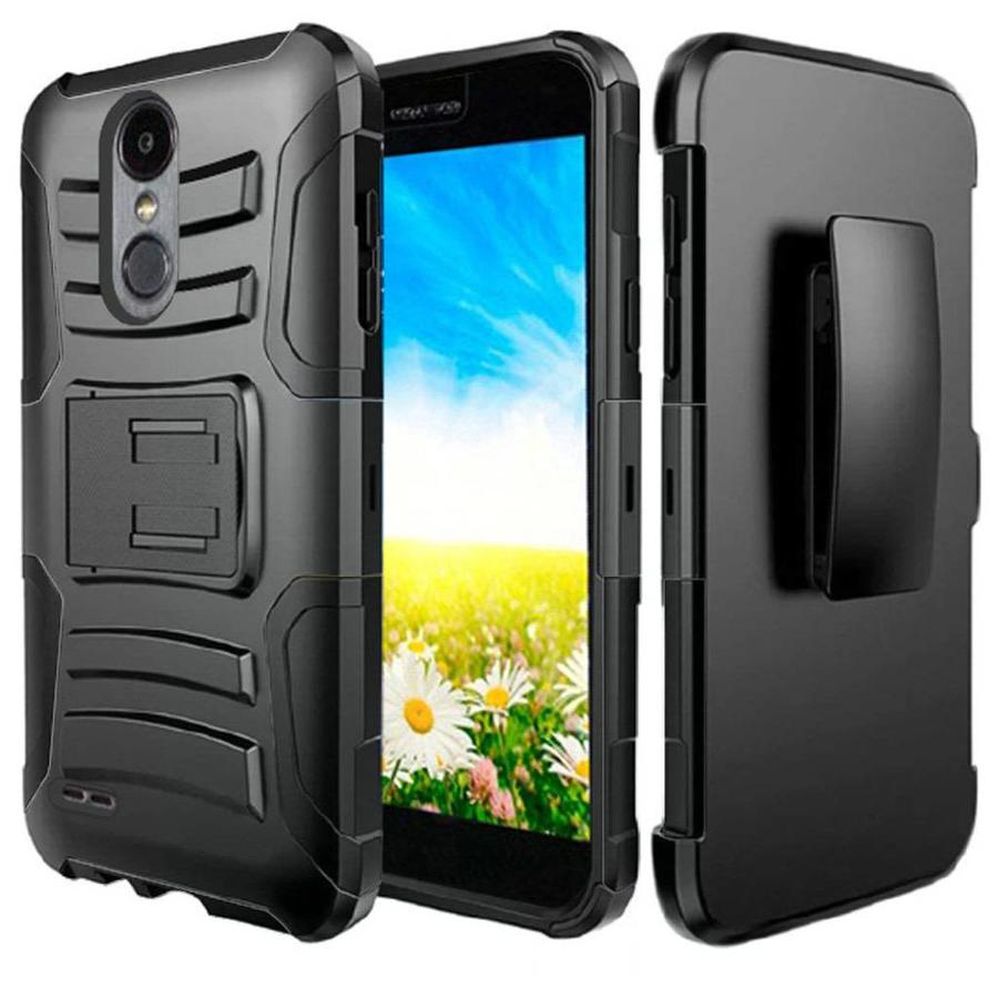 Armor Kickstand Holster Clip Case For LG Aristo 2 X210 / Tribute Dynasty