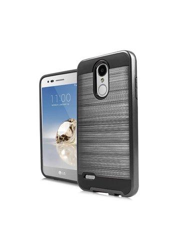 PC TPU Metallic Brushed Design Case for LG Aristo 2 X210 / Tribute Dynasty
