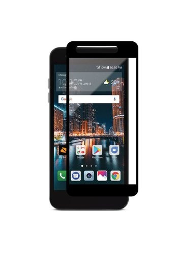 4D Full Cover Tempered Glass for LG Aristo 2 X210 / Tribute Dynasty
