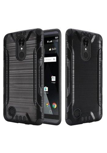 Slim Armor Metallic Design Case For LG Aristo LV3 MS210