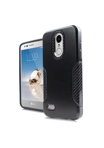 Carbon Slim Metallic Case for LG Aristo 2 X210 / Tribute Dynasty
