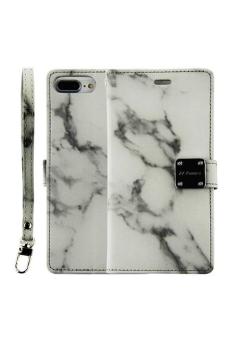 Guardian Design Wallet Case for LG Aristo 2 X210 / Tribute Dynasty - Marble Wallet