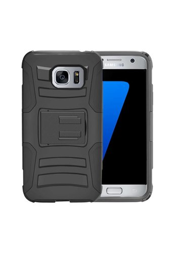 Armor Kickstand Holster Clip Case for Galaxy S7 Edge