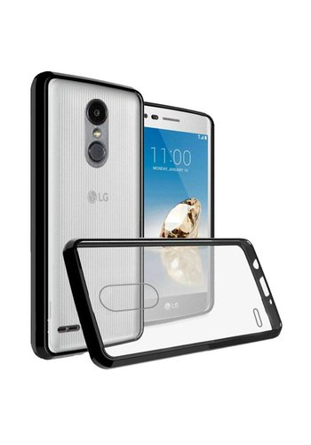 Ultra Slim Clear Hard Fused PC+TPU Case for LG Aristo 2 X210 / Tribute Dynasty