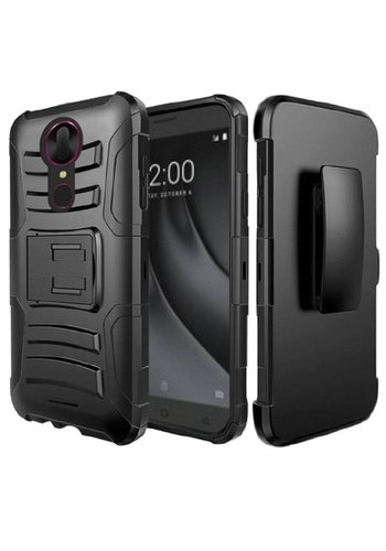Armor Kickstand Holster Clip Case for Coolpad Revvl Plus