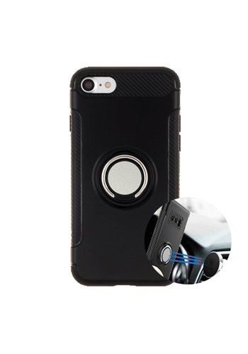 Guardian PC TPU Shield Case with Magnetic Ring Holder for iPhone 6/6S - Shield Magnet