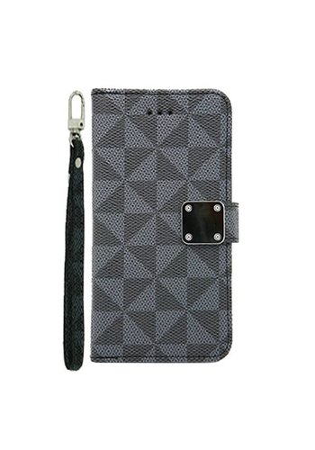 Guardian Patter Design Wallet Case for LG Aristo 2 X210 / Tribute Dynasty - Louis Wallet