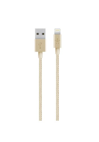 Belkin MIXIT 4ft Metallic Lightning Cable