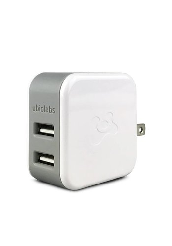 Ubiolabs 4.8A Dual USB Home Wall Charger