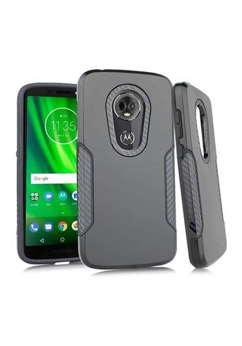 Carbon Slim Metallic Case for Motorola Moto E5 Play / E5 Cruise