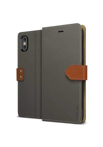 Obliq K1 Italian Leather Wallet Case for iPhone X