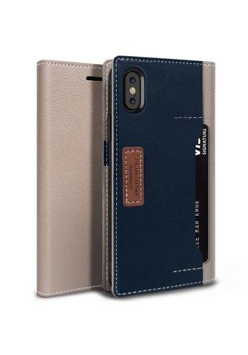 Obliq K3 Italian Leather Wallet Case for iPhone X