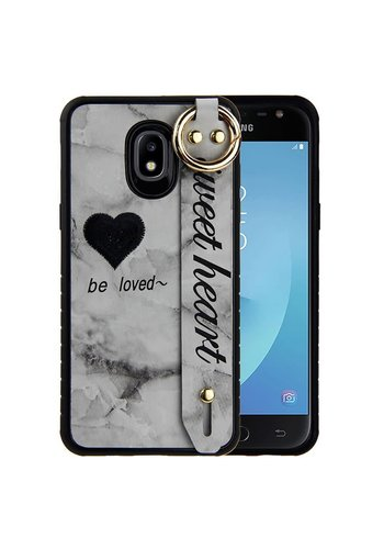 Guardian Colorful Sweet Heart Case for Galaxy J3 Achieve (2018) - Band Tough