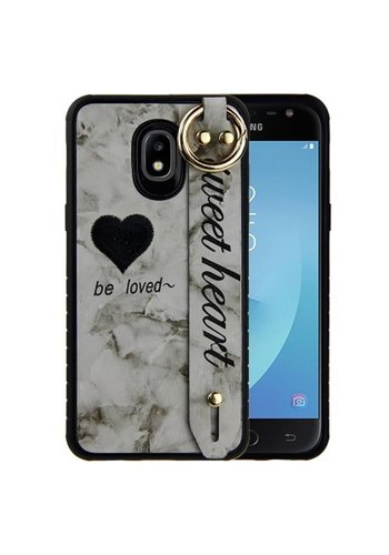 Guardian Colorful Sweet Heart Case for Galaxy J7 Refine (2018) - Band Tough