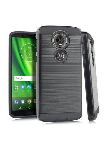 PC+TPU Metallic Brushed Design Case for Motorola Moto E5 Play / E5 Cruise