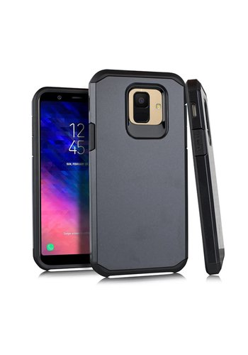 Slim Glossy Solid Case For Galaxy A6 (2018)