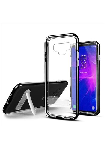 TPU Vitreous Crystal Clear Case with Kickstand for Galaxy Note 9