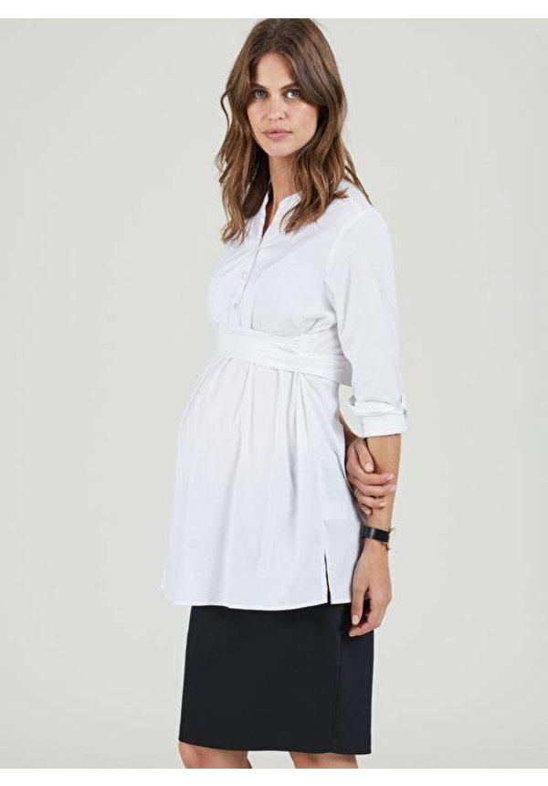 Althea Tailored Maternity Skirt
